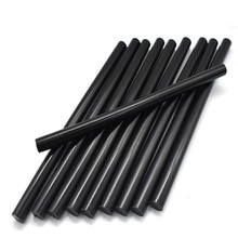 7mm bâtons de colle thermofusible noir pour pistolet à colle électrique artisanat Album alliage accessoires voiture Dent enlèvement sans peinture main bricolage réparation
