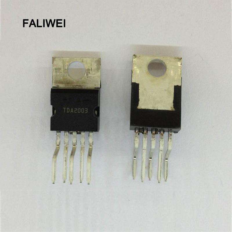 10 PCS TDA2003 IC TO-220-5 amplificador circuito Integrado de Melhor qualidade