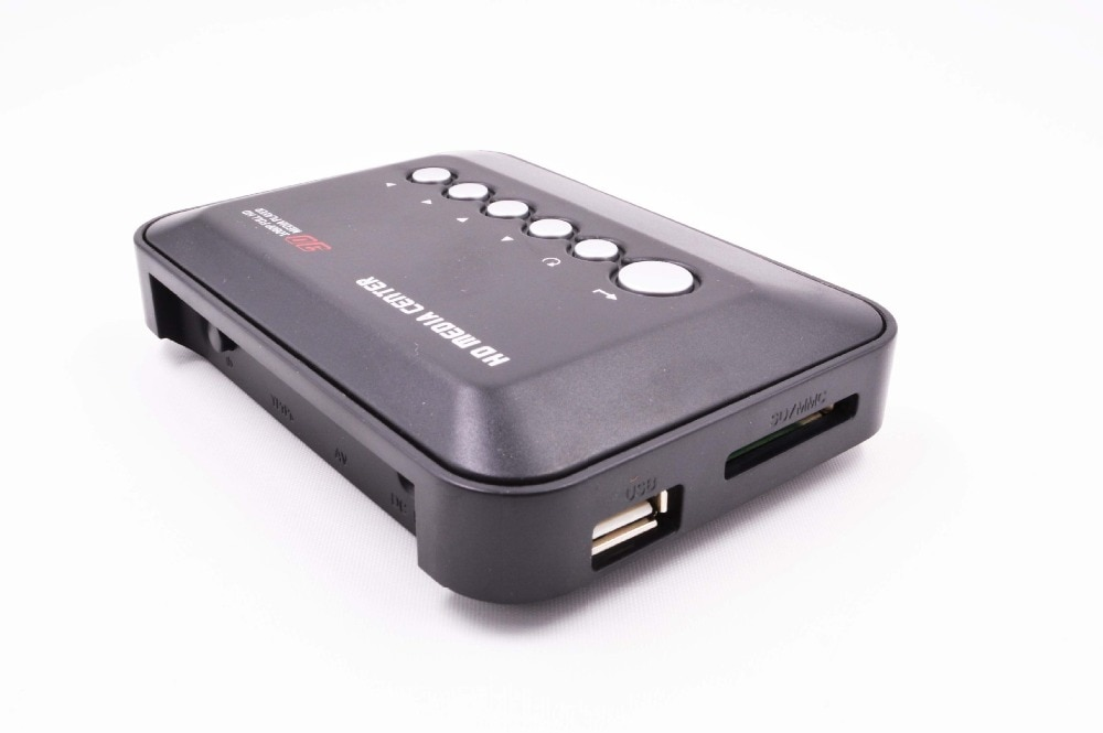 hd601 mini 3d 1080p full hd ultra portable digital media player hdmi vga cvbs sd usb divx mkv h 264 rmvb wmv mp3 flac ape REDAMIGO  Mini Full HD1080p H.264 MKV HDD HDMI Media Player Center with HDMI/AV/VGA/ USB/SD/MMC with Remote controller HDDK3