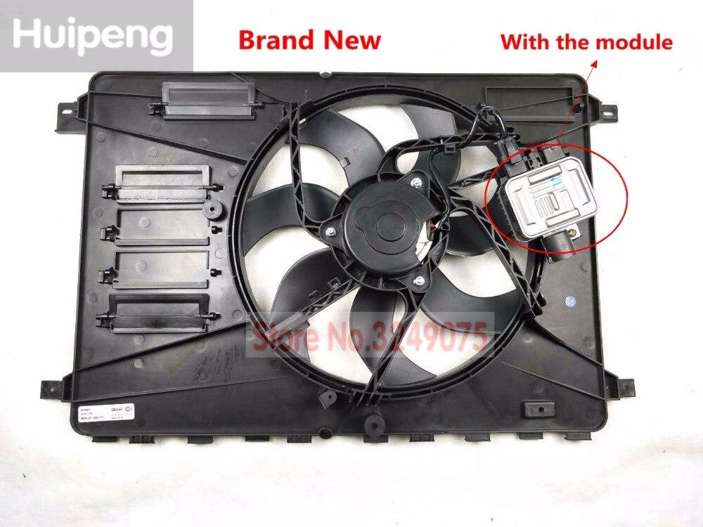 Ventilador de refrigeración eléctrico conjunto de ventilador del radiador con motor para Volvo XC60 S60 S60L V60 S80 S80L 31368867