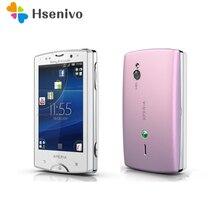 ST15 oryginalny odblokowany Sony Ericsson Xperia Mini telefon komórkowy ST15i 3G WIFI GPS 3MP aparat Android 4.1 telefon komórkowy darmowa wysyłka