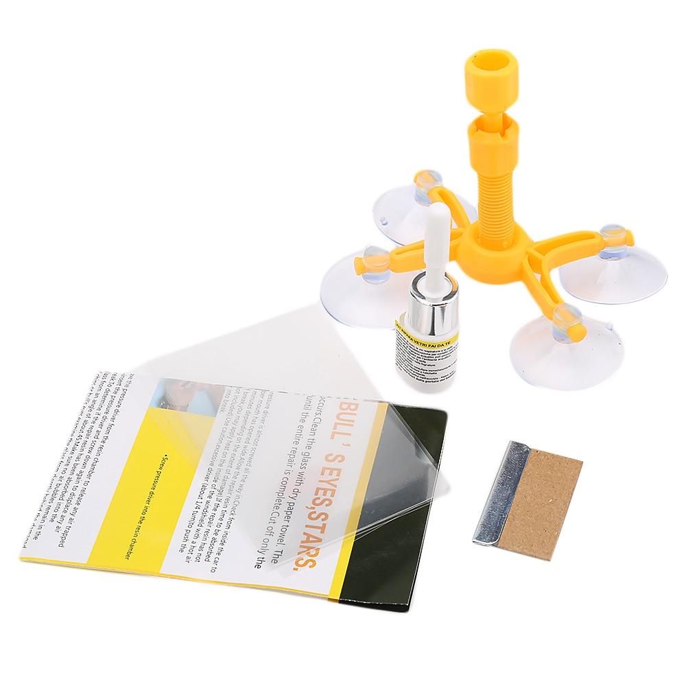 Windshield Repair Kits DIY Car Window Repair Tools Glass Scratch Windscreen Crack Restore Window Car glass repair kit