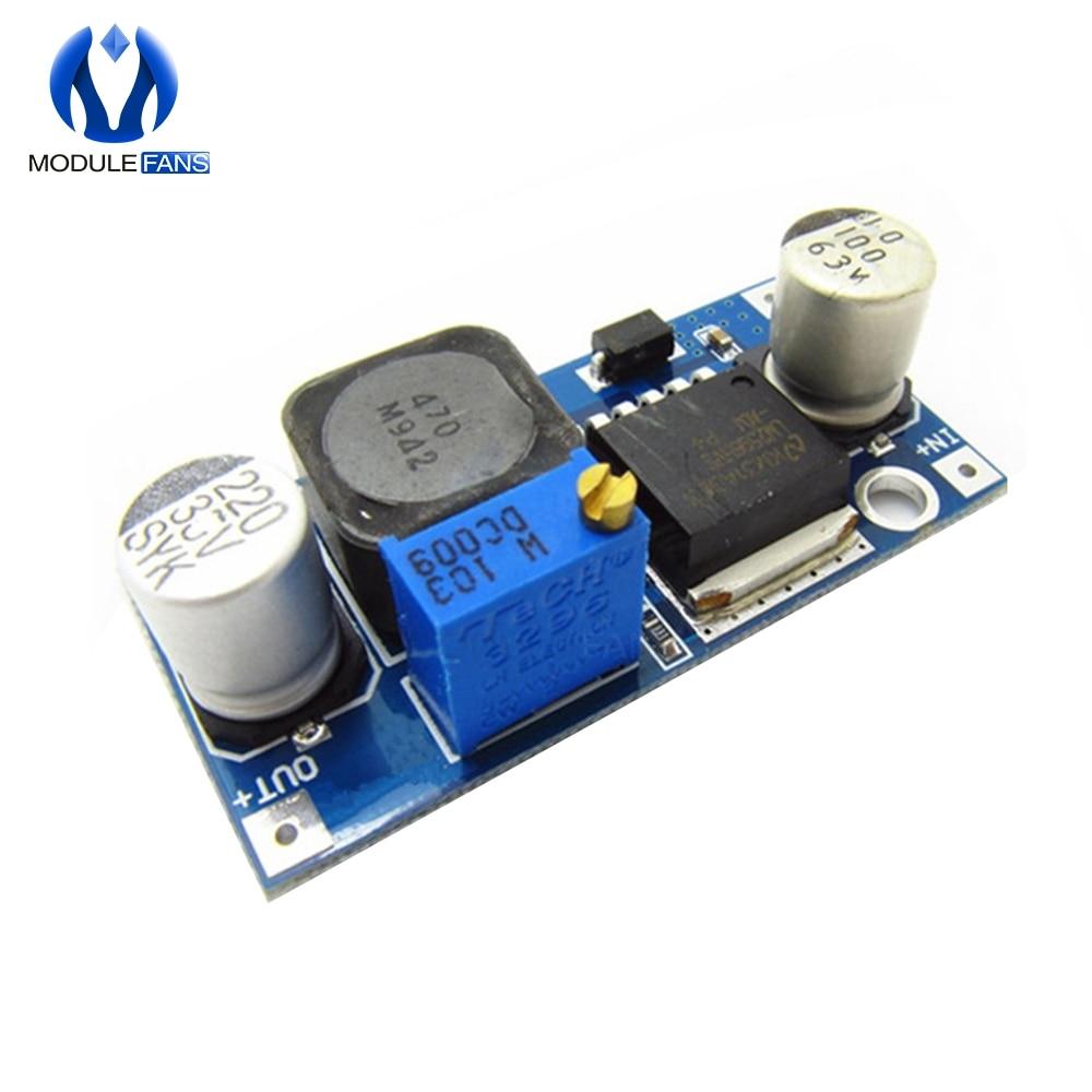 Регулируемый понижающий преобразователь LM2596HVS LM2596 HV LM2596HV, понижающий преобразователь мощности с DC-DC, 4,5-50 в до 3-35 в