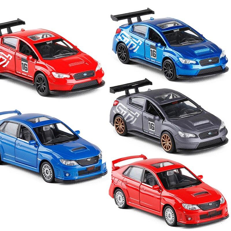 Modelo de coche de alta simulación, exquisitos juguetes de aleación para niños V042