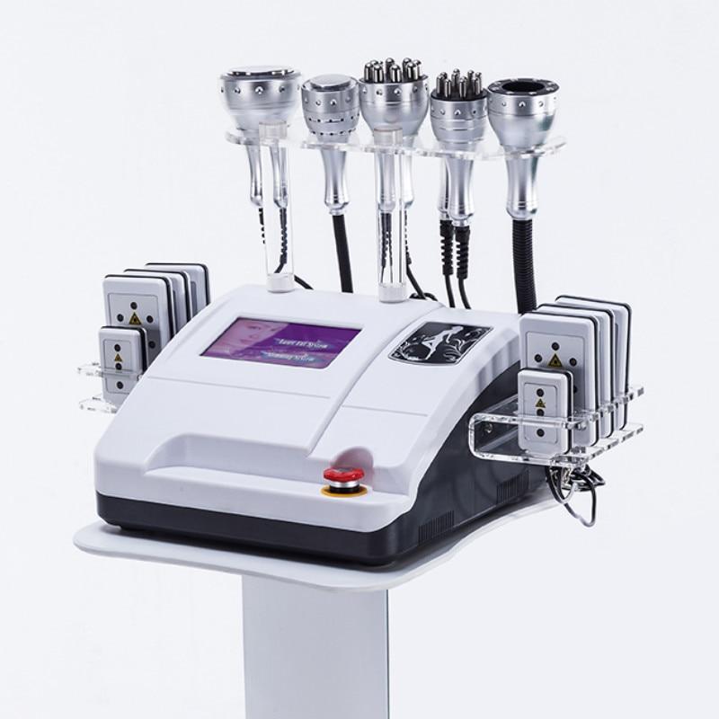 Новейшая Высококачественная вакуумная кавитация 40k ультразвуковая RF lipo лазерная машина для похудения ультразвуковая красота