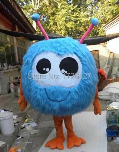 التميمة الأزرق جوجو الفراء الكرة زي التميمة بدلة فاخرة مخصصة أنيمي تأثيري عدة mascotte موضوع فستان بتصميم حالم كرنفال