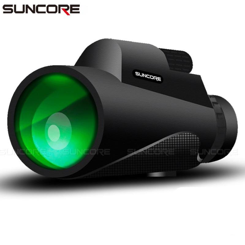 Large Field Telescope 12x50 High Definition Prism BAK4 Monocular Low Light Night Vision Phone Lens O