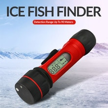 Erchang  Portabl Sonar Fish Finder 0.8-90m Depth Detection Hand Held Digital Sonar Fishfinder LED 47x18mm Screen For Ice Fishing