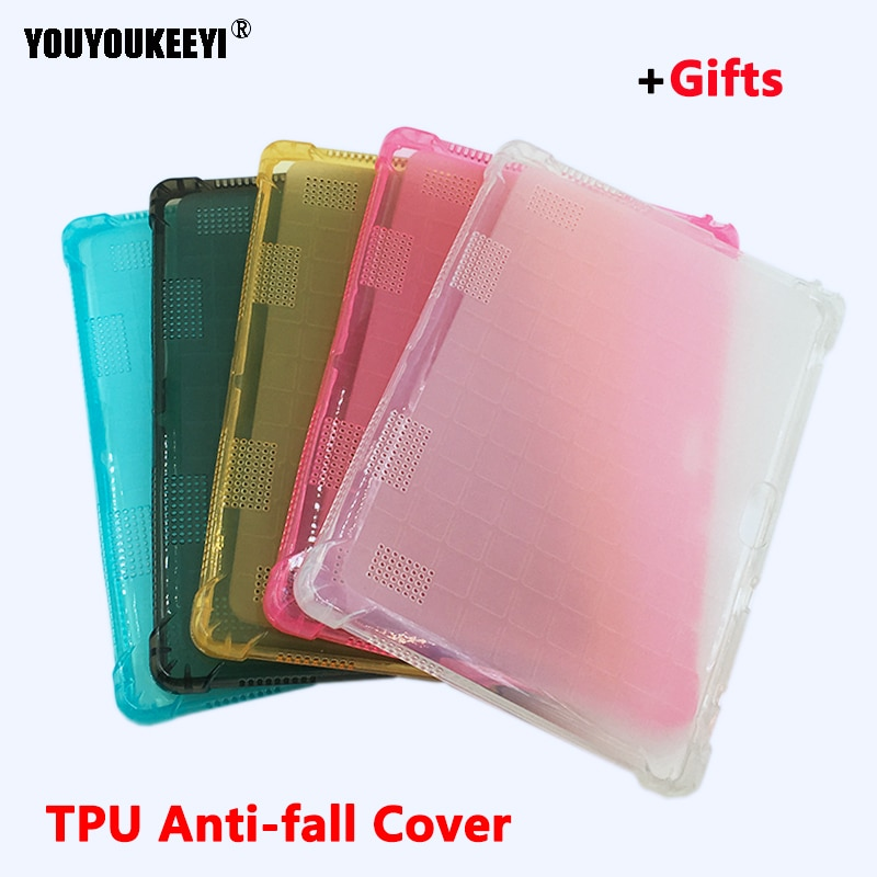 Thick TPU Case for Teclast M20 ALLDOCUBE M5 M5X Onda x20 10.1 Tablet PC Protective Cover for Cube M5S M5x + Stand gifts
