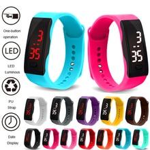 Relogio Bracelet montre enfants montres LED numérique sport montres pour enfants garçons filles électronique Date horloge montre enfant