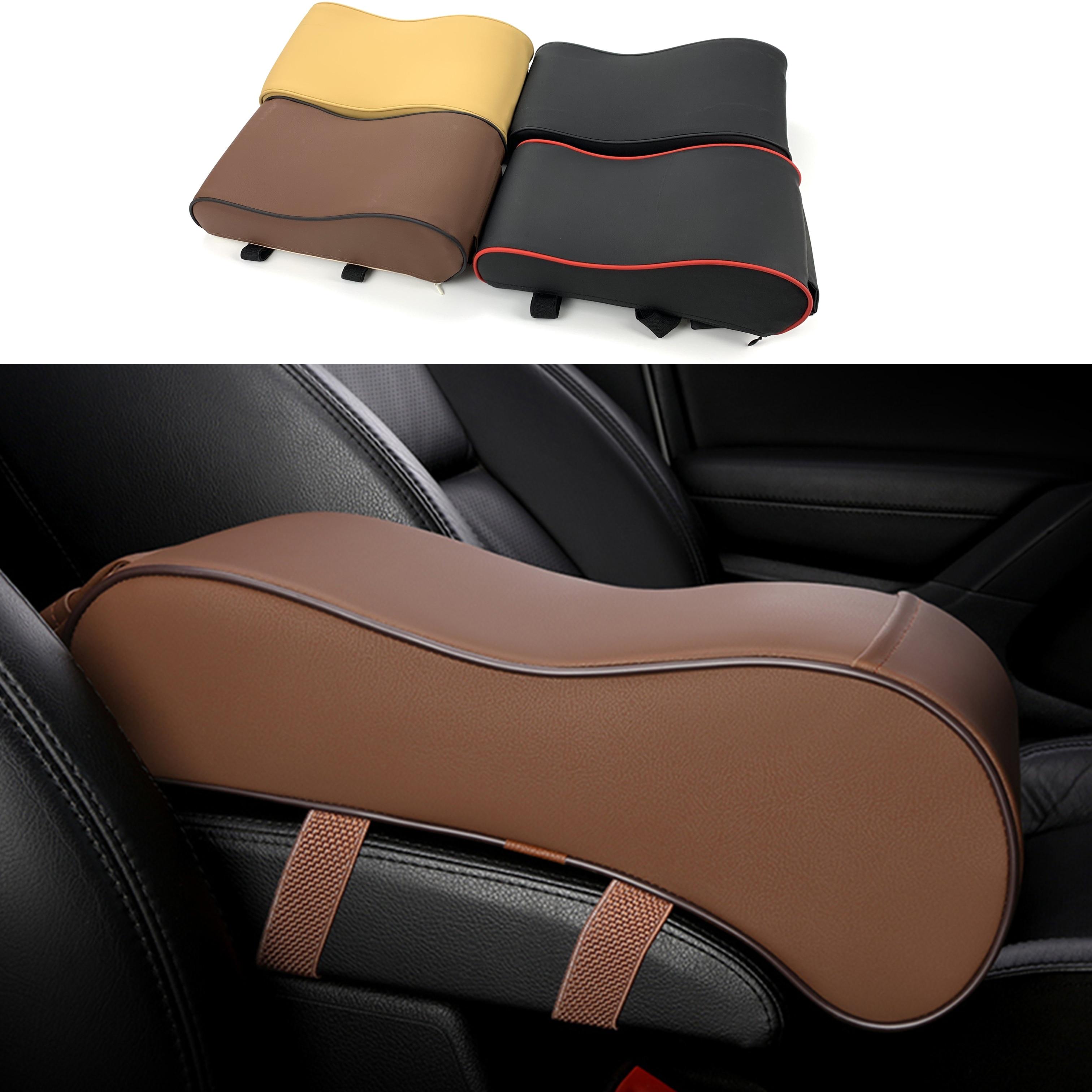 Car Armrest Pad For Hyundai SantaFe Veracruz Mistra Tucson Veloster Rohens AZERA  Avante IONIQ