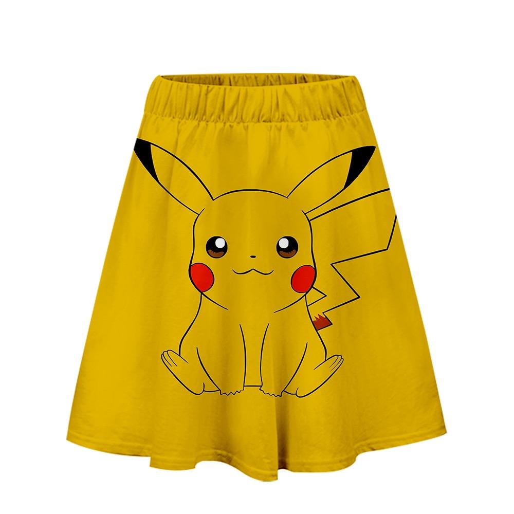 Saia pokemon harajuku casual 2019 novo estilo harajuku pop saias novas sexy kpops feminino casual venda quente moda saias