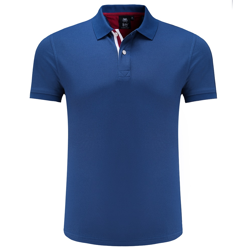 Polos de Golf, camiseta de entrenamiento de manga corta para hombre, camiseta de entrenamiento para hombre, camiseta de verano con cuello vuelto, Polos, camiseta para correr