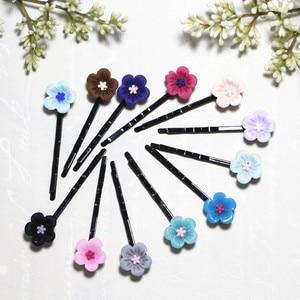 20 New Popular Lady Girls kids Women Little plum Hair Accessories cute children Hair Clips Bridal Hairpins Accessories headwear