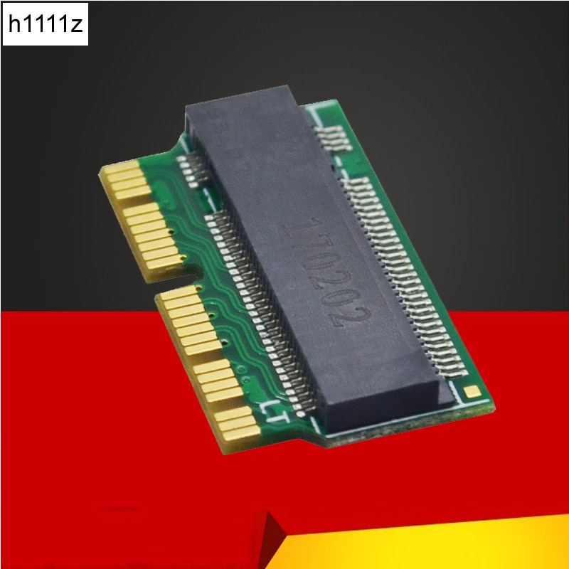 M.2 адаптер для Macbook Air SSD адаптер MAC SSD адаптер M ключ M.2 PCI-E X4 NGFF AHCI SSD 12 + 16 pin для MACBOOK Air 2013 2014 2015