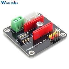 DRV8825 A4988 imprimante 3D 42 Module de protection de carte dextension de commande de moteur pas à pas pour Arduino UNO R3 Ramps1.4 Kit de bricolage un