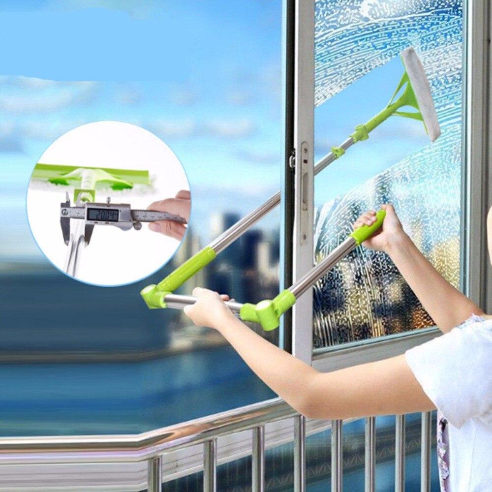 Cepillo para ventanas, esponja telescópica, trapo limpiador, ventana, hogar, herramientas de limpieza, hobot, cepillo para lavar ventanas, polvo, limpieza