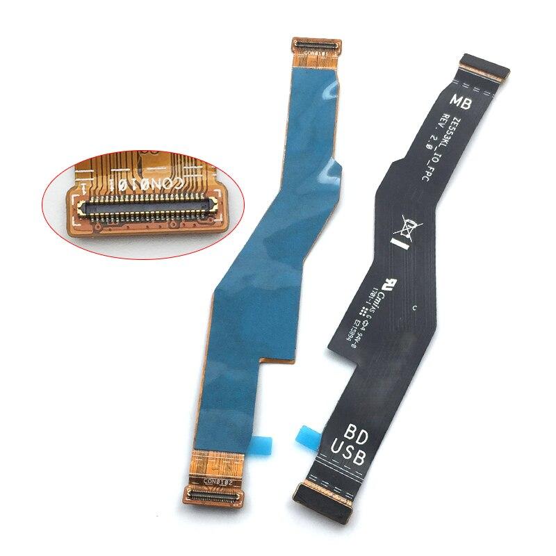 Nueva placa de conector LCD para ASUS zenfone 3 zoom ZE553KL placa base pantalla Flex Cable piezas de repuesto en teléfono móvil