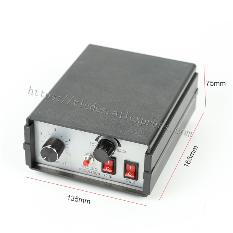 241G Color Ribbon Printer Control box,Heat ribbon printer/coding machine control box,110V/220V enlarge
