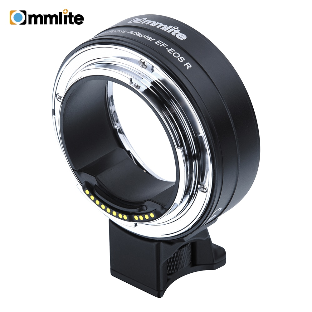 Commlite CM-EF-EOSR nuevo AF adaptador de montaje para lentes de lente para Canon EF/EF-S a EOSR rf-mount cámara de marco completo