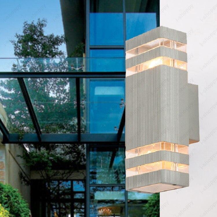 12 W LED COB pared Exterior Sconces lámpara de jardín puerta balcón lámparas de garaje incluidas
