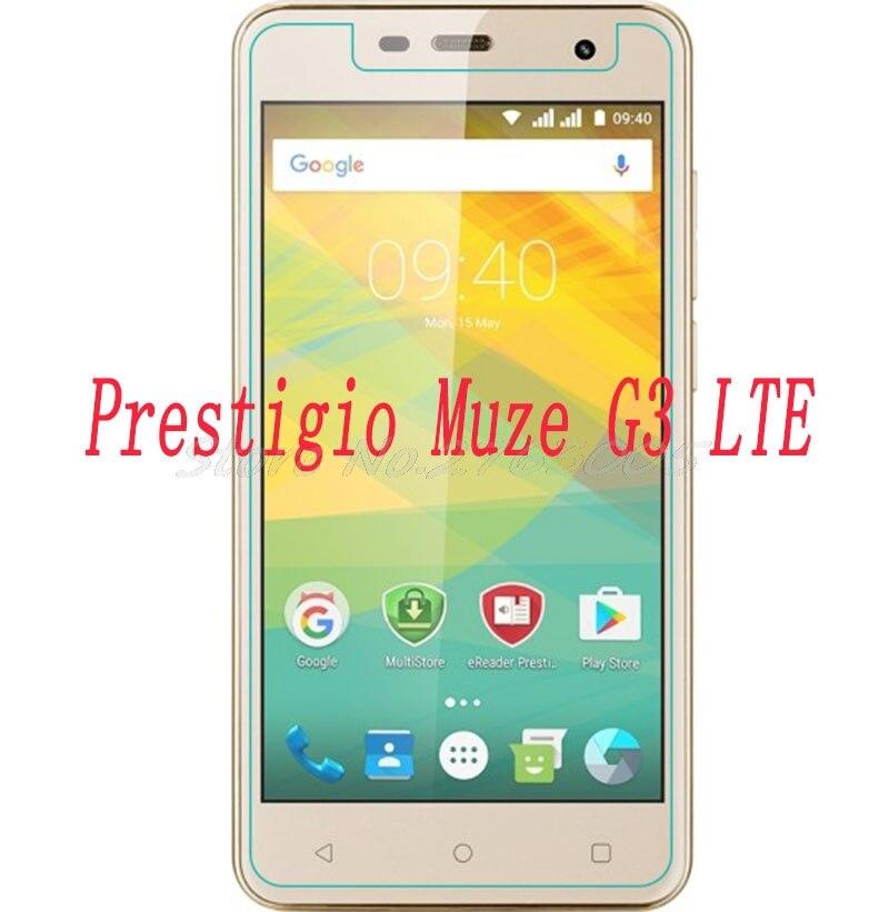 2 pcs NOVO Protetor de Tela do telefone Para Prestigio Muze G3 Smartphones LTE PSP3511 DUO PSP 3511 Vidro Temperado Película Protetora cobrir
