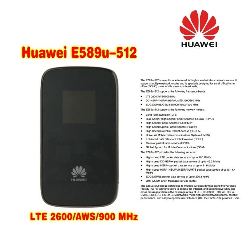 desbloqueado huawei e589u 512 4g movel hotspot lte wifi modem roteador