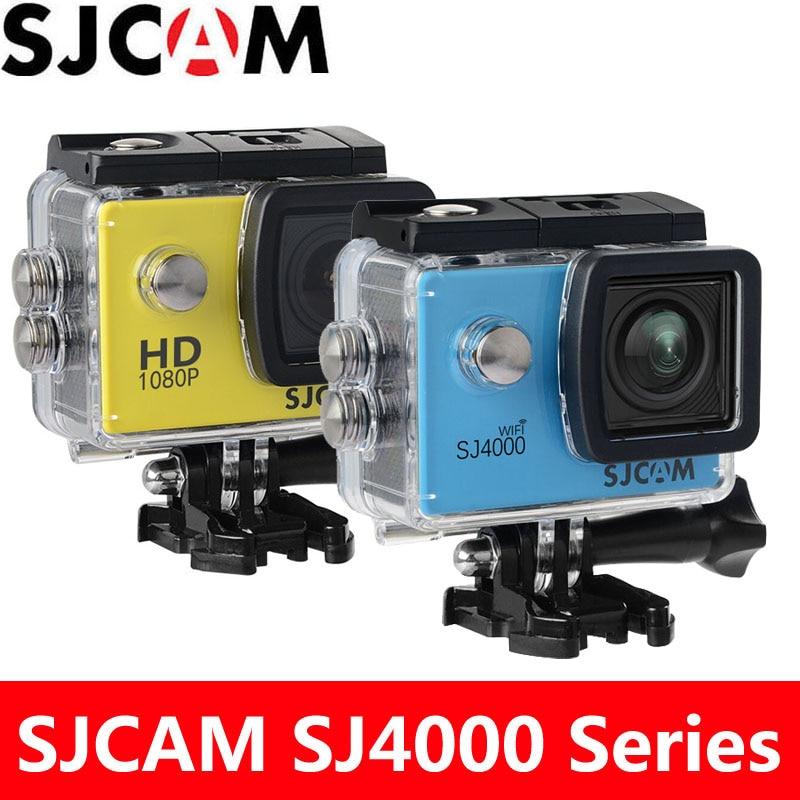Cámara de Acción SJCAM SJ4000 SJ4000, cámara deportiva de buceo DV con WiFi, resistente al agua hasta 30m, pantalla LCD de 2,0 pulgadas, Full HD, cámara Original SJ 1080 de 4000 P
