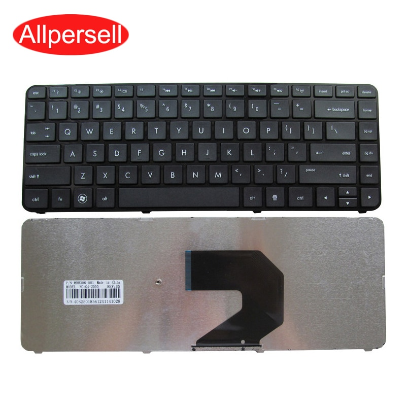 Laptop keyboard For HP G4-2000 TPN-Q109 notebook keyboard Brand New US Black
