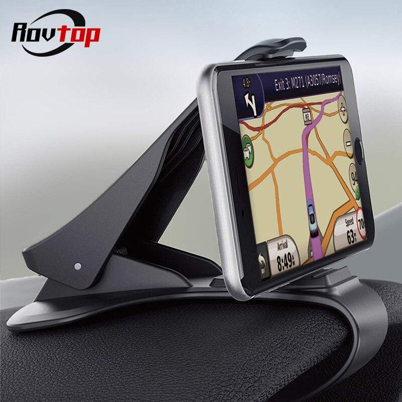 Soporte para teléfono de coche soporte para salpicadero soporte para teléfono móvil de coche soporte de pantalla GPS para iphone Xiaomi Samsung Huawei Z4