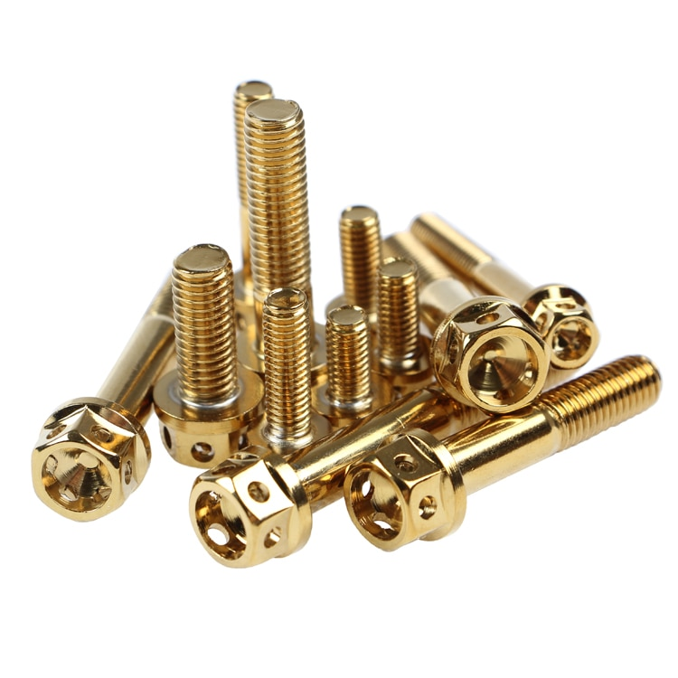 6pcs/lot 304 stainless steel Motorcycle screws M8*20/35/40/45/50/55mm screw M6*10/15/20/25/30/35/45/50/55mm  bolts