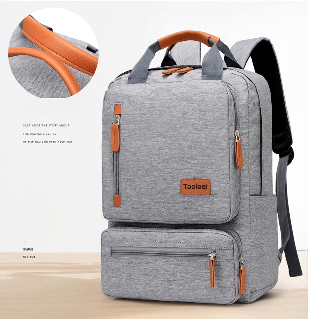 Mochila informal de moda para hombre, mochila para ordenador portátil, mochila para viajes al aire libre, senderismo, buenos regalos