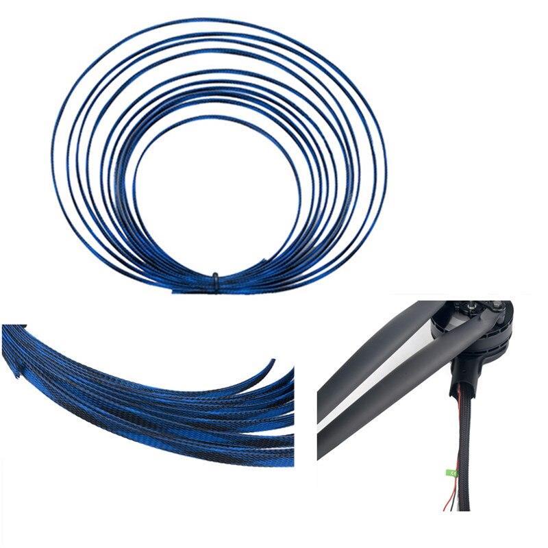 Slangenhuid Netto Gevlochten Bescherming Touw 5 M Diameter 6mm voor Borstelloze ESC RC FPV Onderdelen