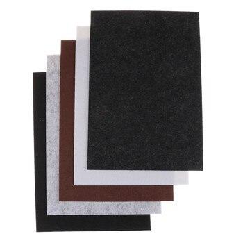 1 шт., самоклеящиеся квадратные войлочные прокладки, 30 х21 см