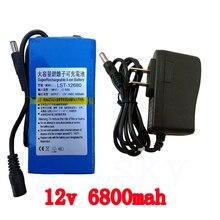 20 piezas/12 V 6800 mah batería de litio 12 v 6800 mah batería de iones de litio envío gratis