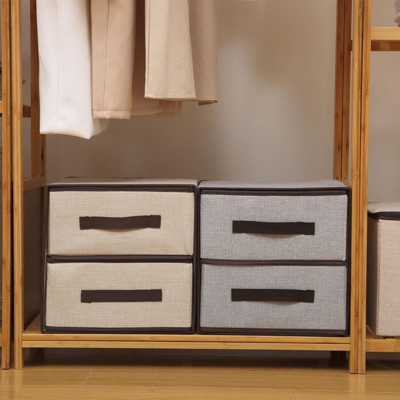 صندوق تخزين بنمط الدرج ، منظم أدراج للملابس الداخلية ، خزانة ذات سعة كبيرة ، منظم ، قابل للطي ، للمنزل ، الجوارب ، حمالات الصدر