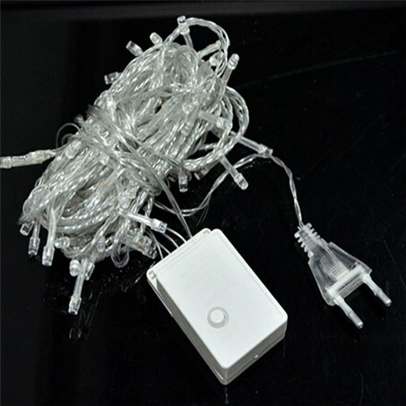 Vanjske božićne LED lampice za žice 100m 20m 10m 5m vilinske - Rasvjeta za odmor - Foto 6