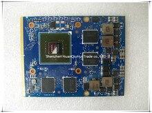 Tout nouveau pour nVIDIA GTX 660M GTX660M N13E-GE-A2 2GB GDDR5 MXM 3.0B carte vidéo pour Dell M15X M17X M18X ordinateur portable carte graphique