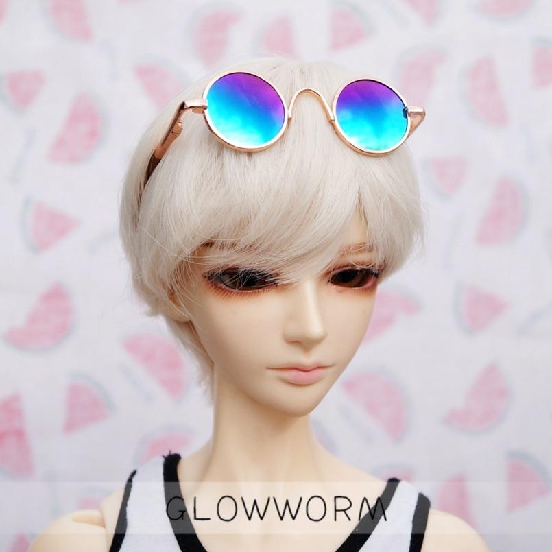 "Gafas de sol BJD, accesorios para sujetadores, mezcla de colores para 1/4 1/3 24 ""60 cm MSD SD SD17 70CM DD DOD DK DZ Volks Doll hedooep"