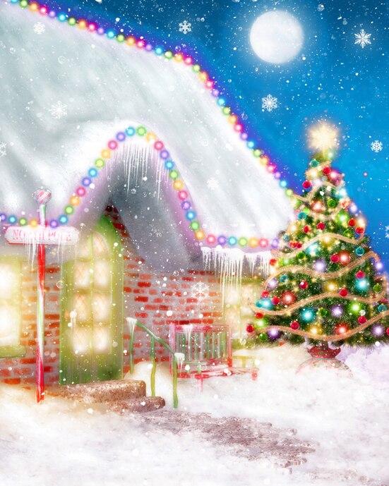 Fondos de Navidad para fotos de estudios fondos 3*6m fondos de retrato de invierno fondo para fotografía