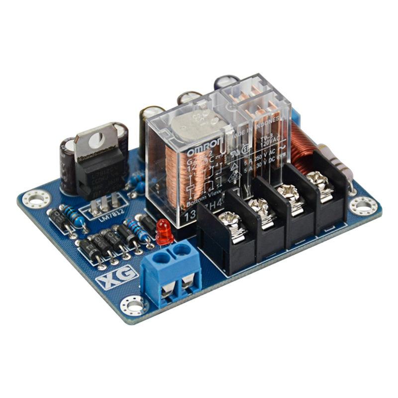 2 piezas altavoces de Audio proteger Junta Mono Upc1237 altavoz Junta de Protección Ac9-16V espejo simétrica de circuito