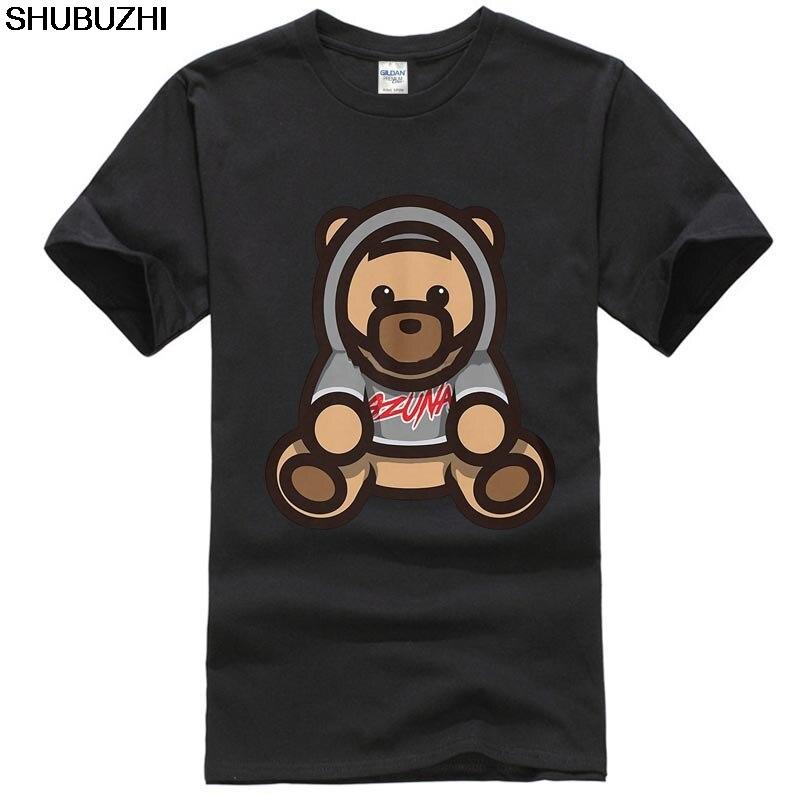 Ozuna Singer , Ozuna, oso, Bab - Zuna Popular camiseta sin etiqueta, Camiseta de algodón para hombres, camiseta de moda de verano, camisetas sbz1215