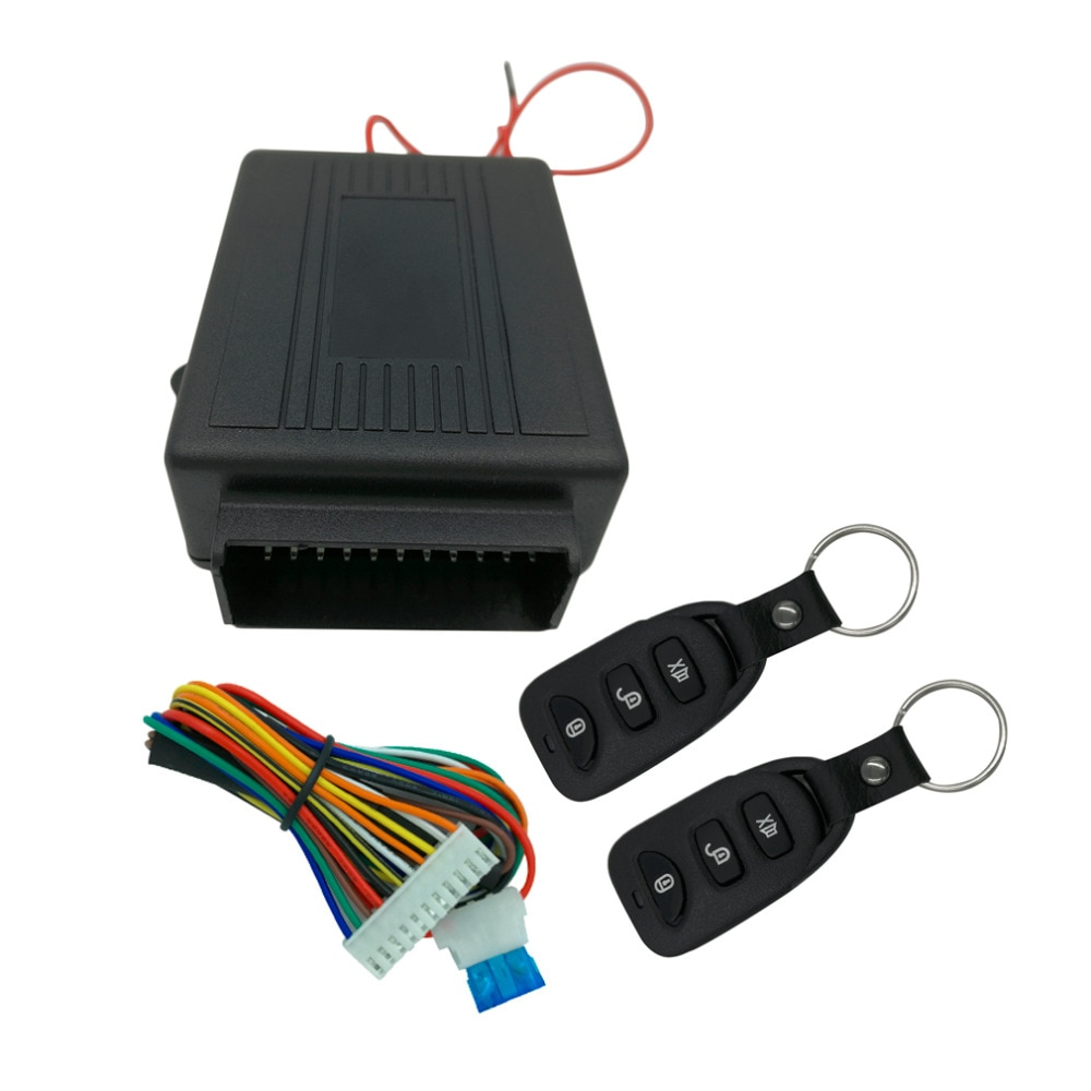 2018 más nueva para coche Kit Central remoto de coche cerradura de la puerta de bloqueo vehículo sistema de entrada sin llave nueva con controladores remotos