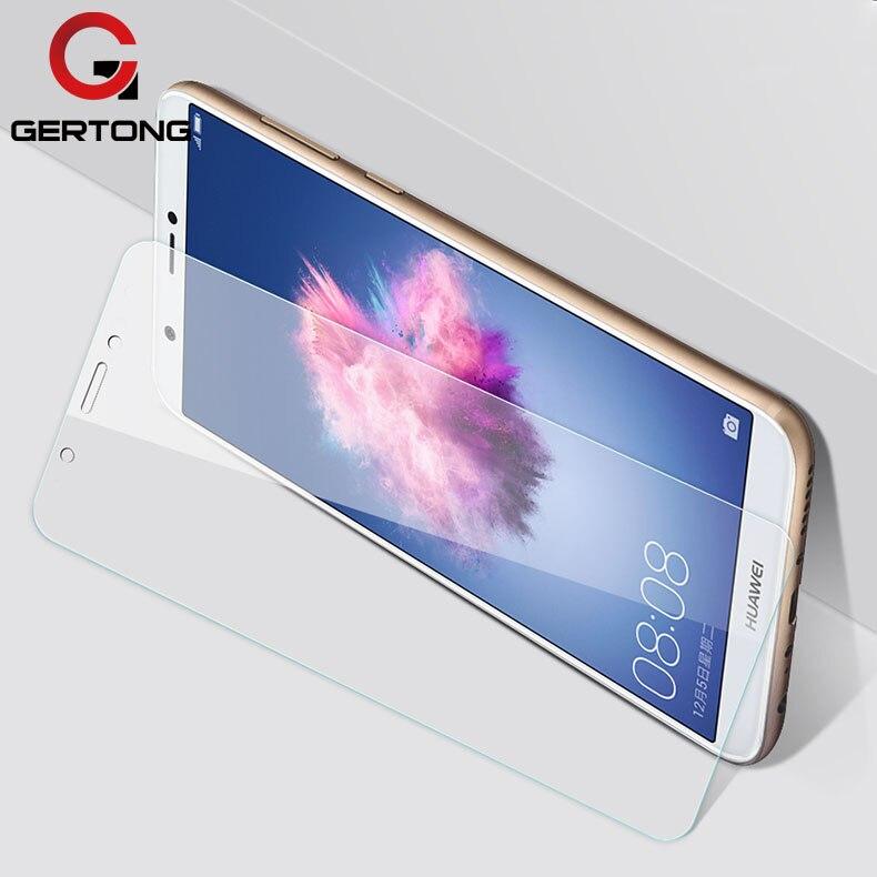 GerTong templado de vidrio para Huawei P Protector Pantalla inteligente para P inteligente FIG-LX1 FIG LX1 protectora de cristal película de vidro