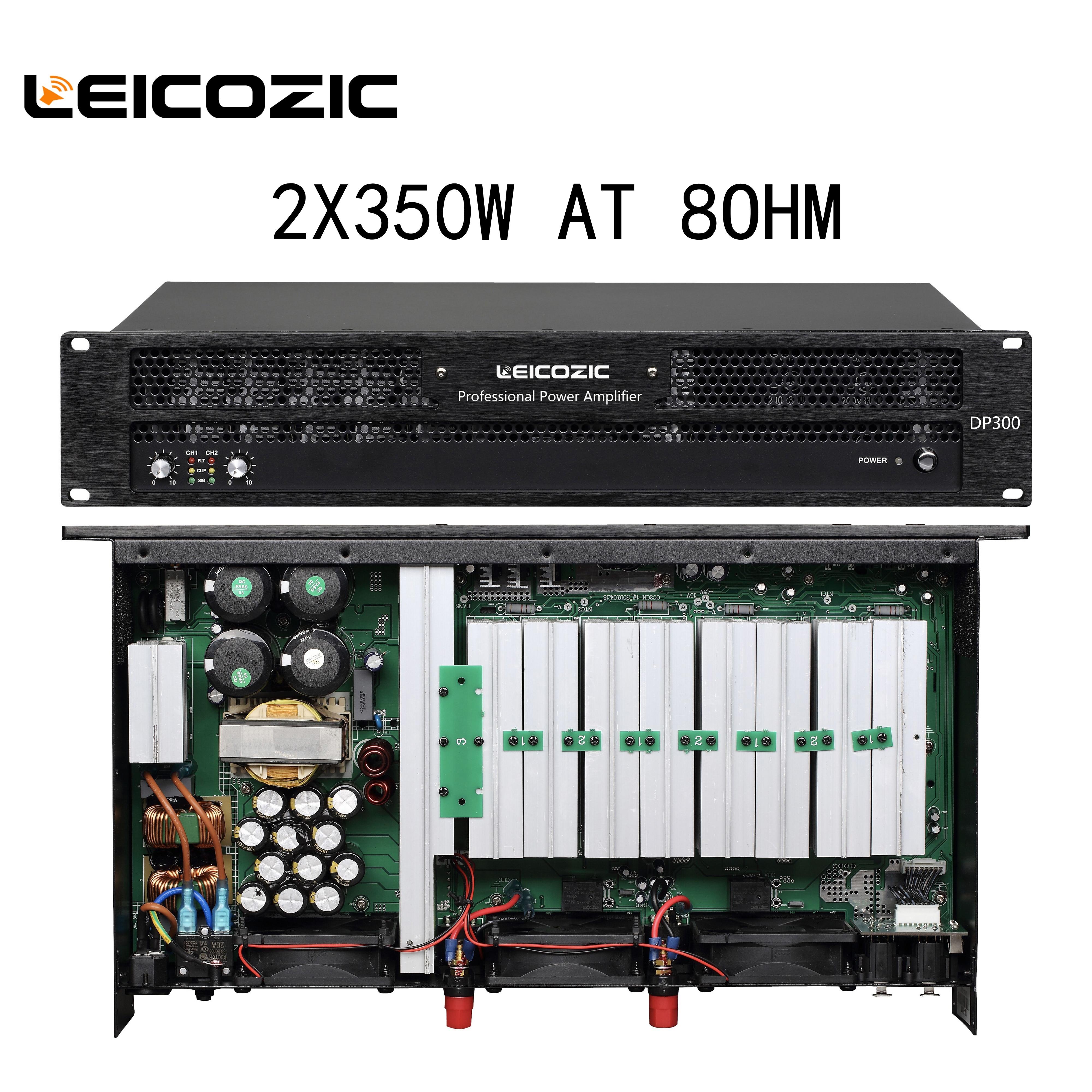 Leicozic-amplificador DE POTENCIA profesional DP300, amplificador de audio profesional, 300w, x2, RMS,...