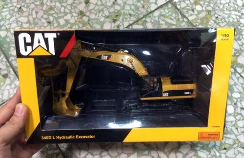 Tonkin Europa 1/50 veículos de Construção CATERPILLAR CAT 340D L Escavadeira Hidráulica Tr20001