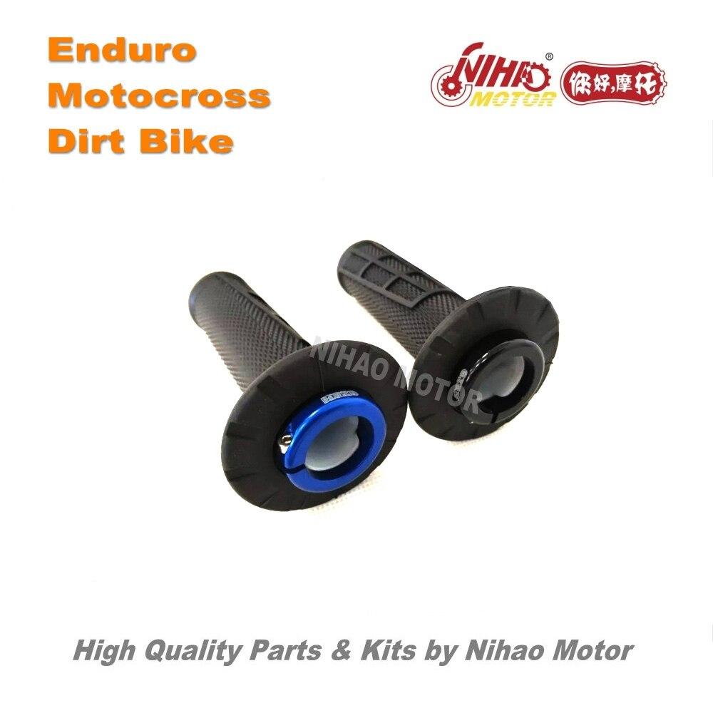 Piezas de Motocross de 122, juego de combustible modificado para repostar, juego de interruptor de acelerador de doble uso para Enduro Dirt bike, Motor cross Nihao de repuesto
