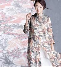 sewing chiffon textile meter fabrics for patchwork dresses ,tissu au metre,print satin material floral Process tecido,C093