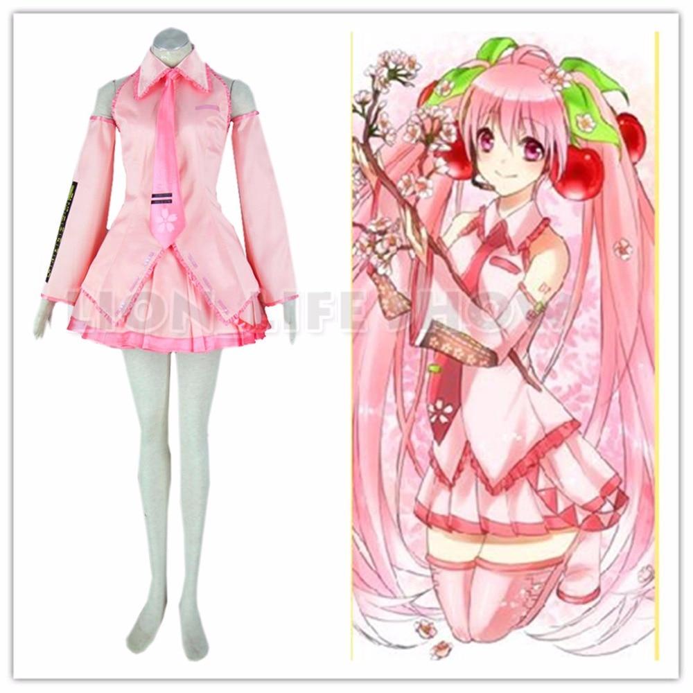 vocaloid-sakura-miku-cosplay-costume-rosa-animazione-abbigliamento-abito-rosso-gonna-cravatta-maniche-spedizione-gratuita