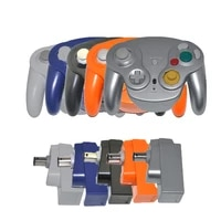2 4ghz wireless gamepad controller gamepad joystick with receiver for n g c for gamecube for wii